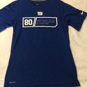 NFL team apparel men's short sleeve T-shirt